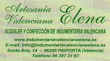 Artesania Valenciana Elena.