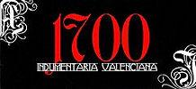 1700 Indumentaria Tradicional Valenciana