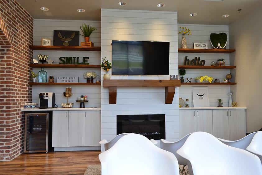 Dental Reception Area