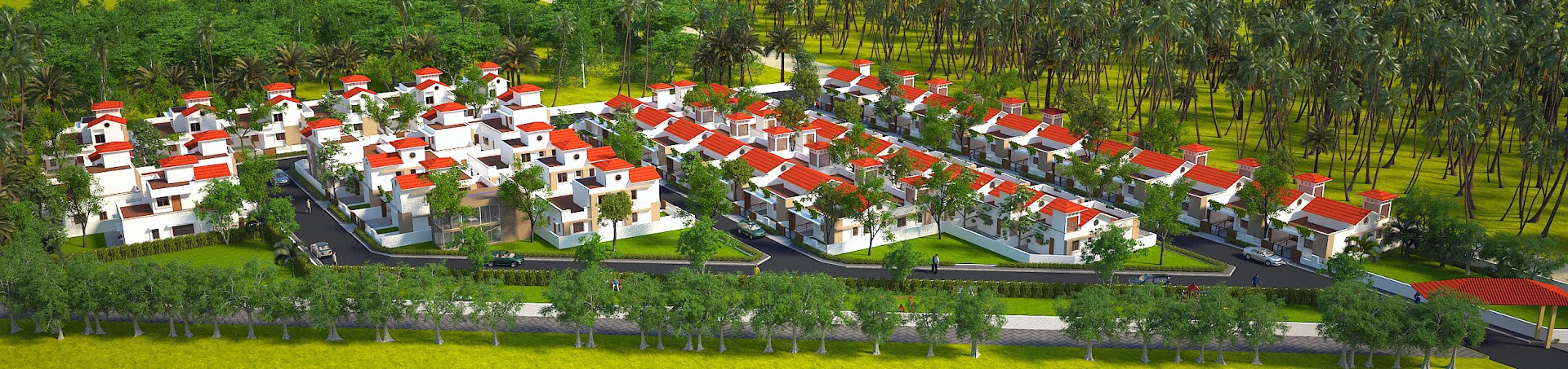 Final aerial view for Swasthya Retiremen