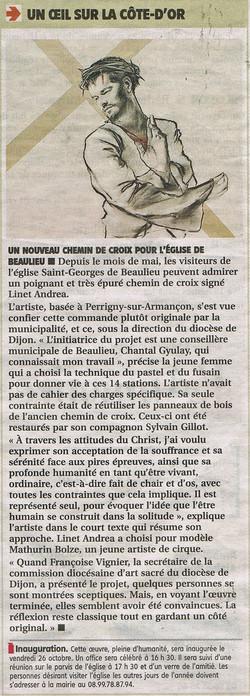 Chemin de Croix - Bien Public 2012