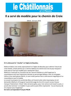 Chemin de Croix - Bien Public 2016