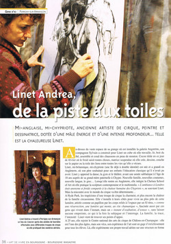 Entre Cirque et Terre (2) - Bourgogne Magazine 2010