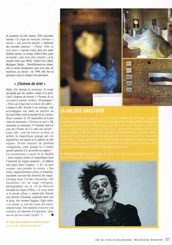 Entre Cirque et Terre (3) - Bourgogne Magazine 2010