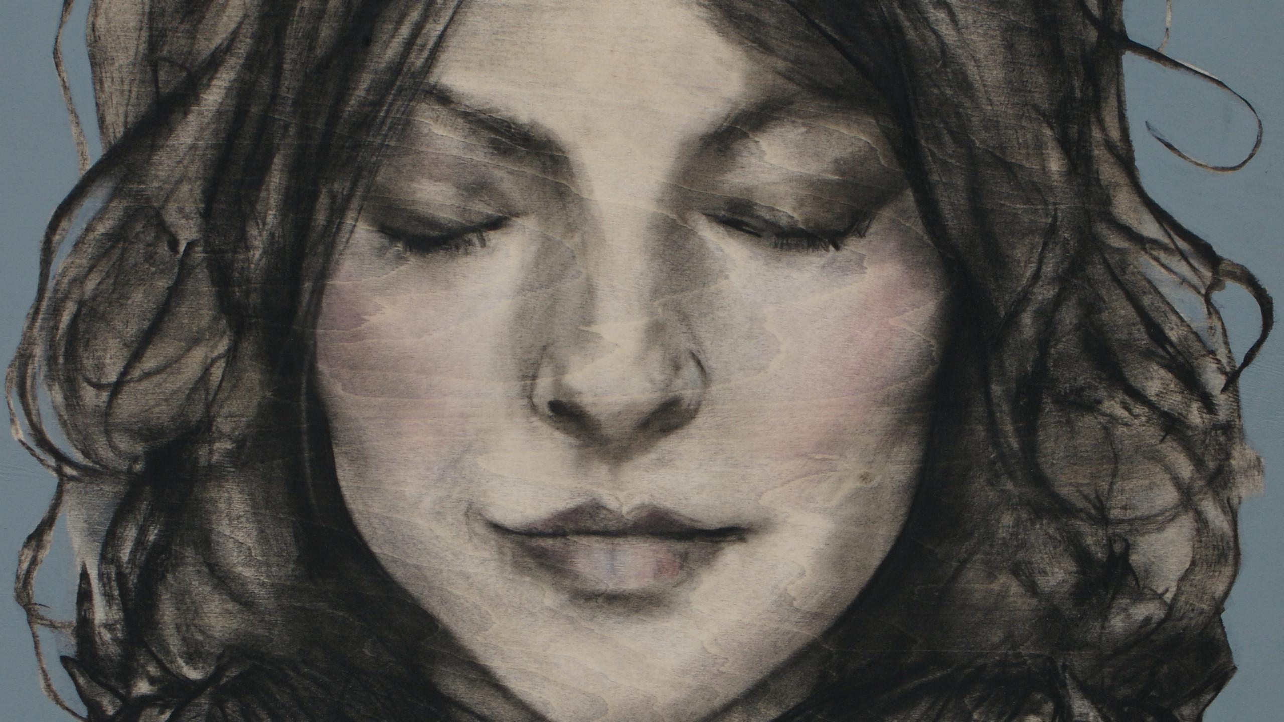 Lara Meditation Portrait