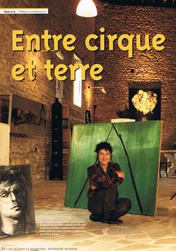 Entre Cirque et Terre (1) - Bourgogne Magazine 2010