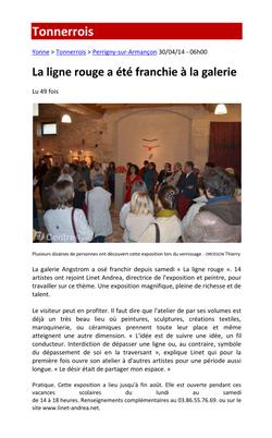 Ligne Rouge - Yonne Républicaine 2014