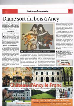 Château d'Ancy-le-Franc - L'été dans l'Yonne 2014