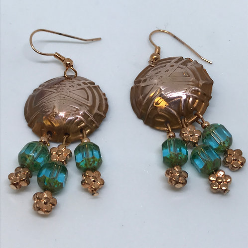 Copper and Antique Beads
