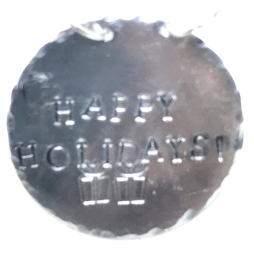 Bottle Charm - Happy Holidays