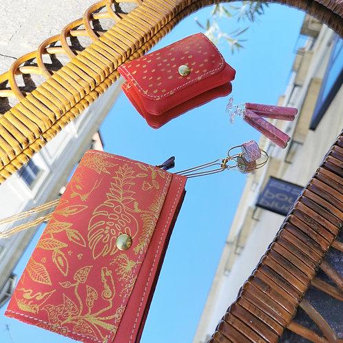 Porte passeport   papiers - ROSY - PRO