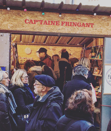 Cap'taine Fringant au marché de Lëon à Nantes !