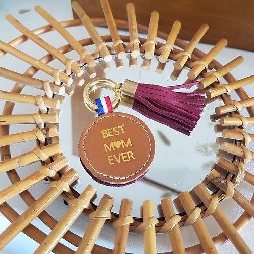 Porte-clés - BEST MUM EVER -