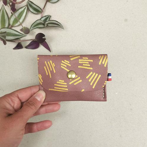 Porte monnaie - LEA - Panama & Griffe