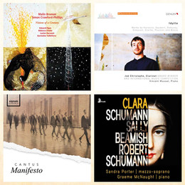 Clarke, Tailleferre, Beamish et Schumann - Florilège