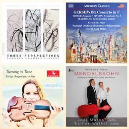 Higdon, Tower, Mendelssohn et Bacewicz : images et textures - Florilège