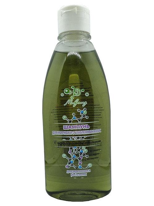 Шампунь МИКРОЛИЗ для жирных и ослабленных волос, 250 мл