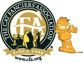the cat fanciers' association. Since 1906. CFA.