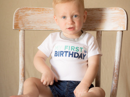 Logan Turns ONE!