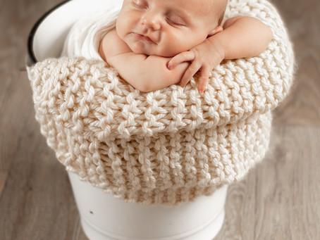 Rhett Newborn Session in Snyder Colorado