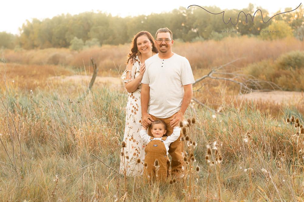 Family session in Brush, Colorado