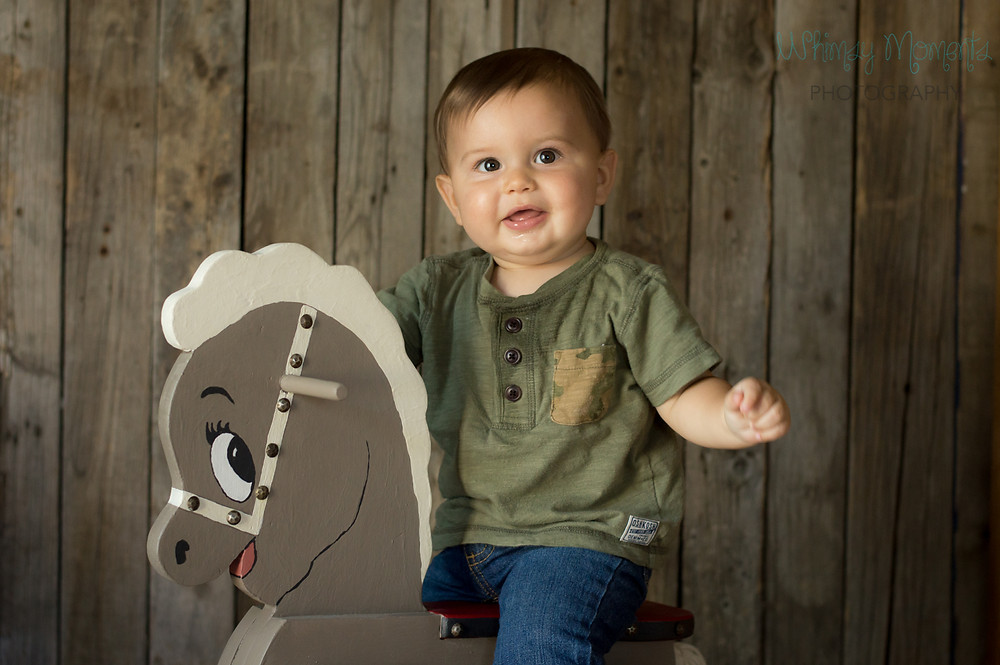 Brody Riding rocking horse