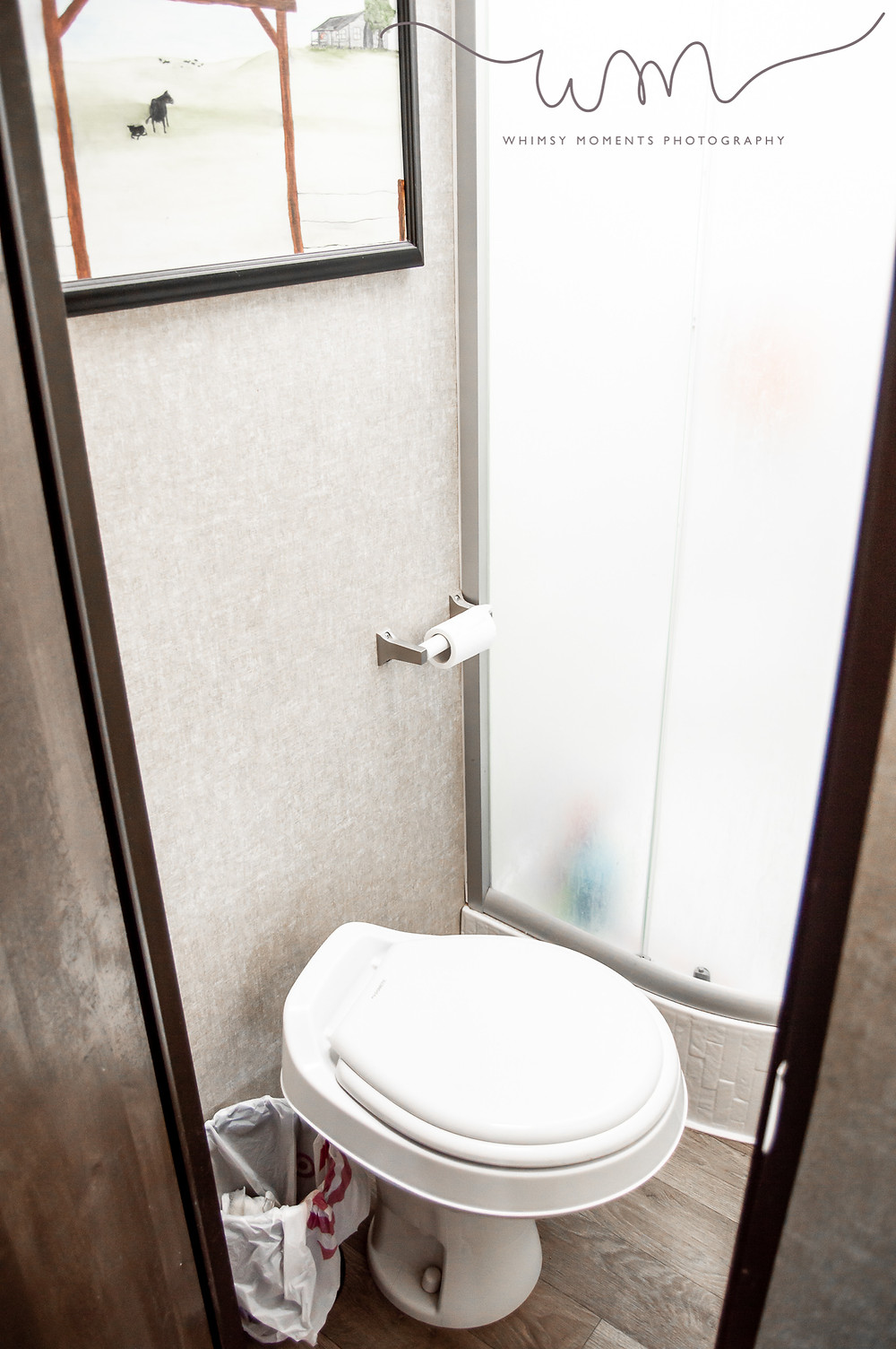 Bathroom in camper