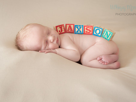Jaxson McMullen'sNewborn Session