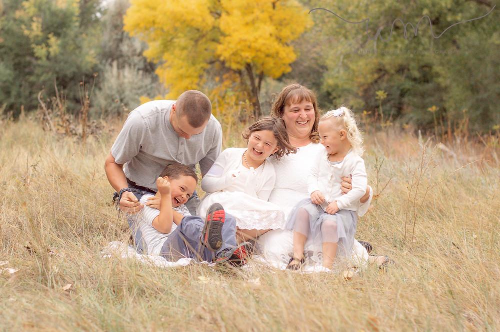 Brush Colorado Family session
