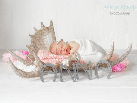 Newborn session - Anna from Wyoming