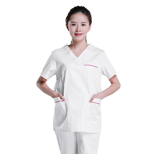 Short-Sleeved Health Services Suits Working Shirt Tops/Suits Summer