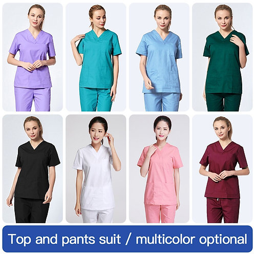 Nursing Uniform Lab Uniform Scrub Uniform Work Clothes
