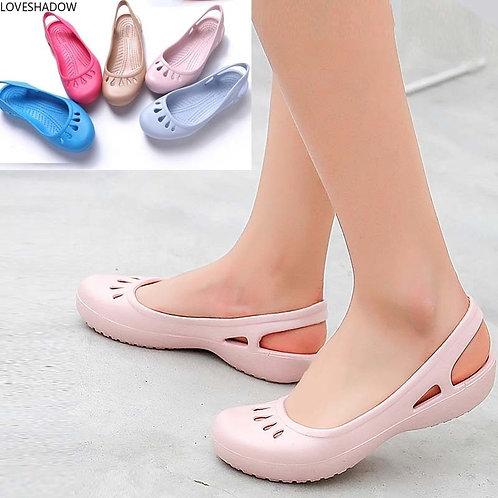 Medical Shoes Chef Hospital Workwear Anti-Slip Sandals Nursing Surgical Slipper