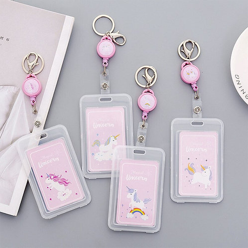 Retractable Badge Holder Nurse Exhibition Pull Key ID Name Card Badge Holder
