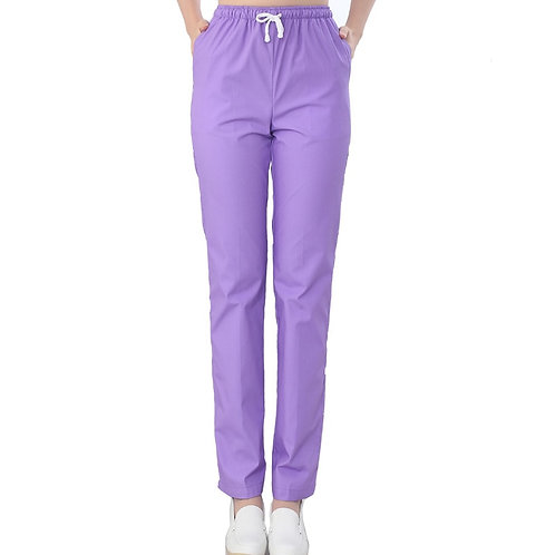 Trouser Nurse Uniform Bottoms Cotton More Pockets Scrub Pants