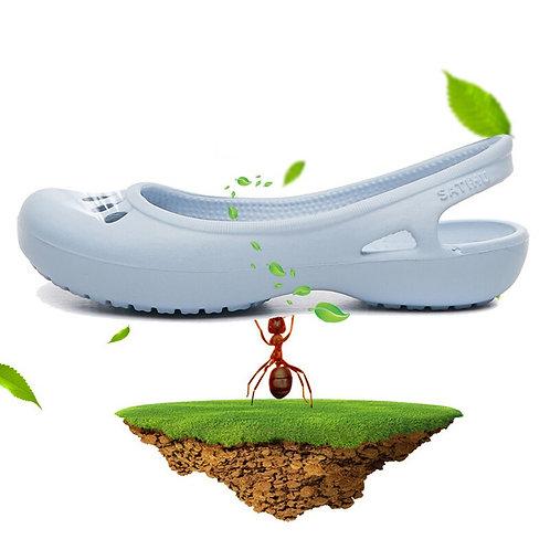 Summer Female Flat Sandals Nurse Shoes Medical Shoes EVA Clogs