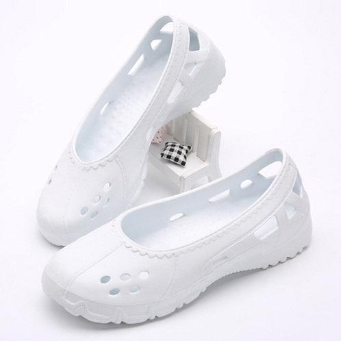 Nurse Surgical Shoes Dental Hospital Lab Shoes Anti-Static Autoclavable Clogs