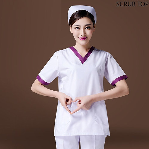 Medical Uniforms Doctor Nurse Beautician Workwear White Coat