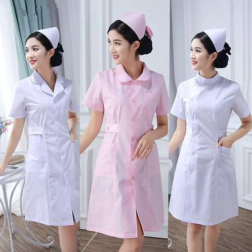 Summer Winter Hospital Medical Tops Surgical Scrub Medical Uniforms Long Coat