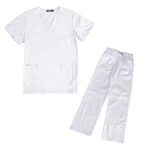 Laboratory Clothes Sets Short-Sleeved Uniform Suits