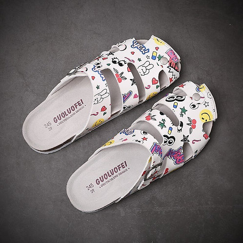 Summer Doctor Nurse Work Slippers Soft Laboratory Work Shoes