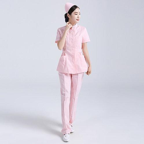 Lab Coat Scrubs Sets Uniform for Women Men Scrubs Suit