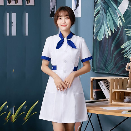 Overalls Pharmacy Lab Coat Doctor Costume Female
