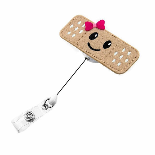 Retractable Badge Holder Cute Felt Badge Reels With Alligator Clip for Nurses