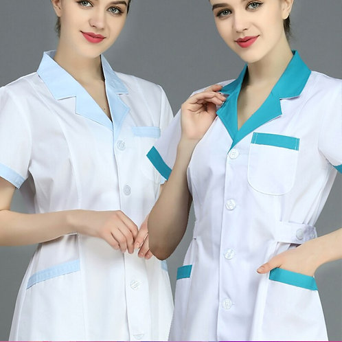 Pharmacy Beauty Salon SPA Uniform Lab Coat Technician Work Clothes