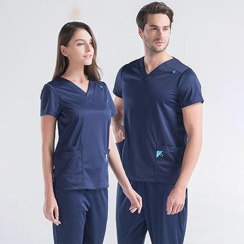 Medical Uniform for Women and Men Label Scrubs Infinity Nurse Workwear Tunic