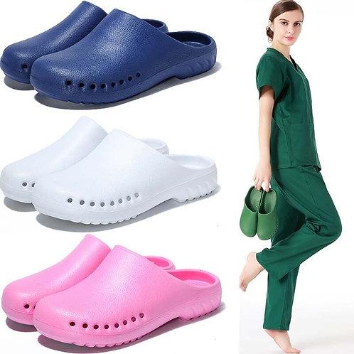 Light Weight Surgical Shoes Nurse Clogs Non-Slip Scrub Shoes
