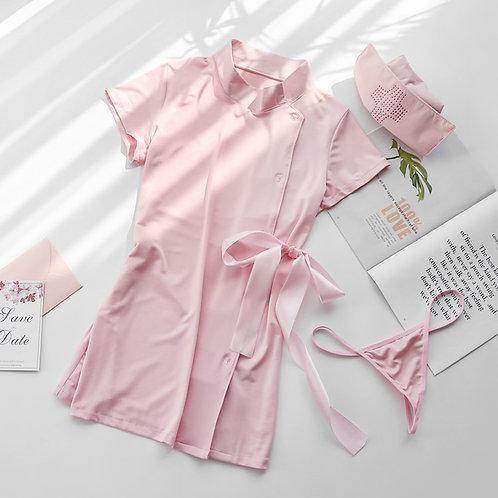 Japanese Nurse Role-Playing Uniform Cute Woman Erotic Nurse Cosplay Dress