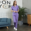 Thumbnail: New Multicolor Polyester Cotton Solid Color Nursing Uniform