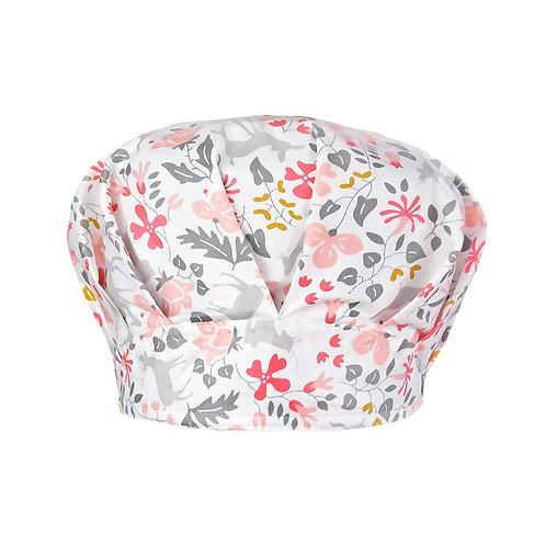 Print Hat Scrub Caps Pet Shop Beauty Clean Nursing 100% Cotton Fluffy Hat
